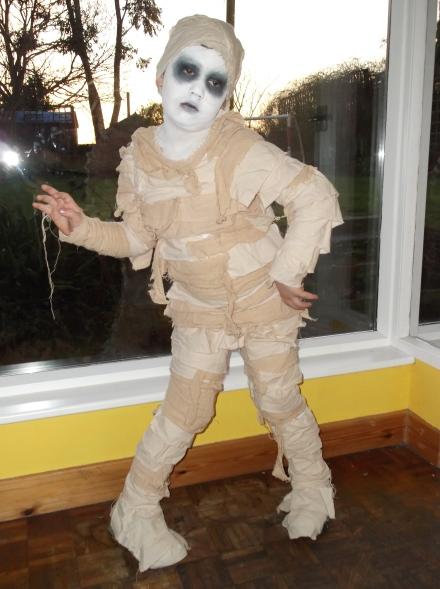 Big J's Mummy costume
