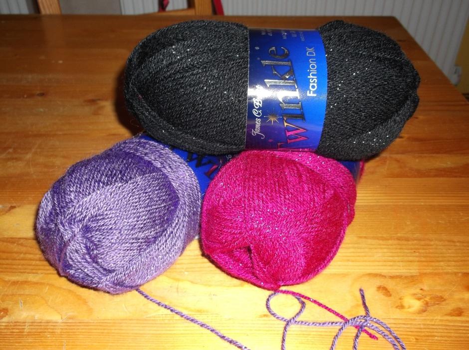 Twinkle yarn