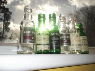 Mini whisky selection