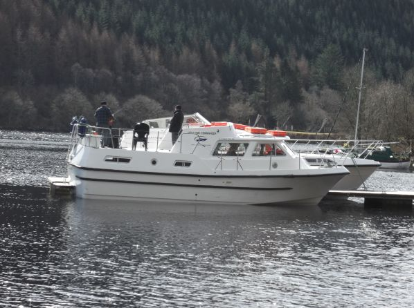Highland Commander, our home for the week