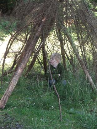 We found a den