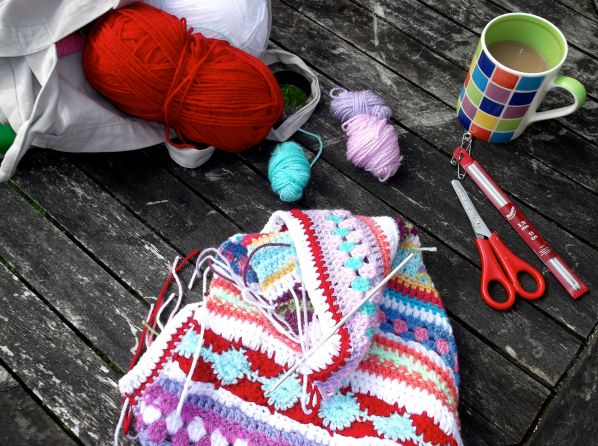 Garden crochet.