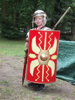 A soldier at last (no scary Centurions today).