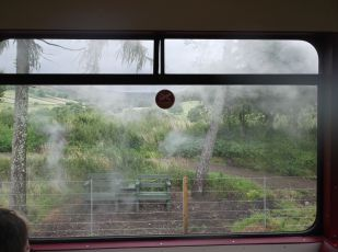 View from a train.