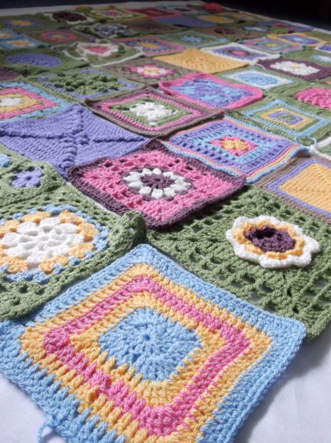 Cottage Garden CAL blanket.