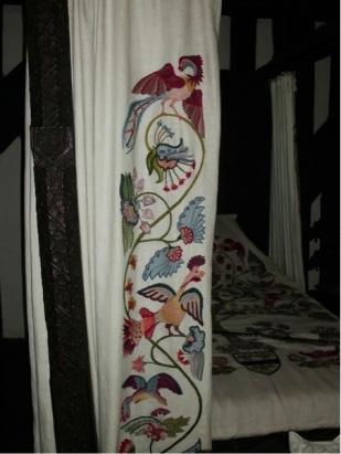 Close up of drapes.