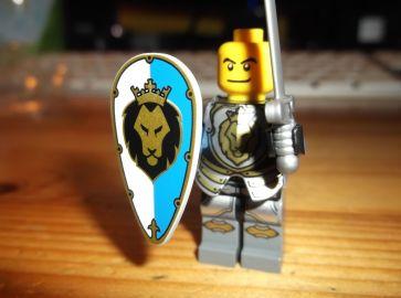 The brave knight prepares....