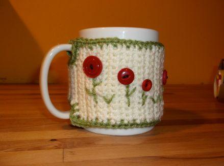 Mug cosy complete.