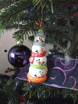 Mr P's snowmen.