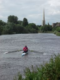 The River Severn.