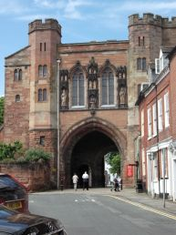 Gatehouse to Worcester Cathedral.