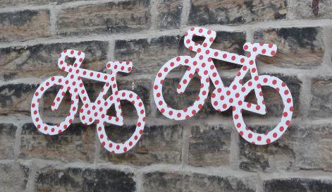 Tour de France decorations.