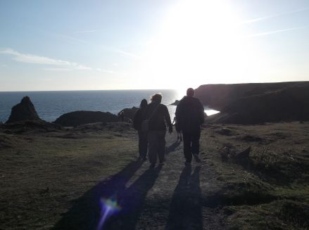 Evening expedition to Kynance Cove