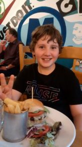 10th Birthday meal