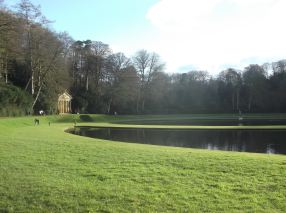 The water gardens.