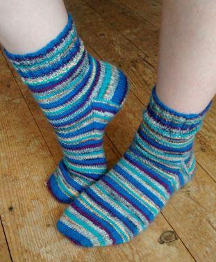 Big J's socks completed.