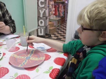 Pottery Painting.