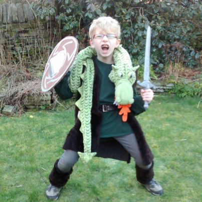 Hiccup for World Book Day.