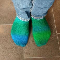 Completed socks.